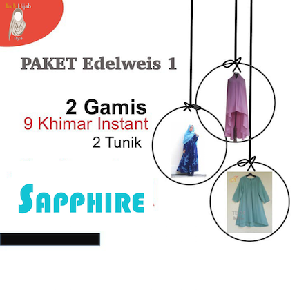 Paket SAMPLE 1  EDELWEIS 1 SAPPHIRE
