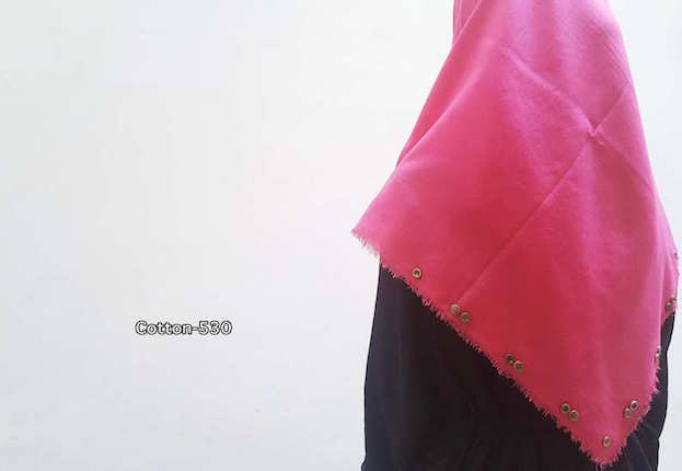 Hijab Cotton C-530 , model Hijab terbaru, grosir Hijab , model Jilbab Pashmina, model Hijab, produsen Hijab, supplier Hijab