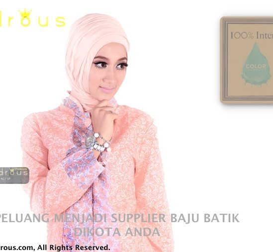 Baju Batik TUNIK PASTEL COLORS Asli No KW ! | Best Seller