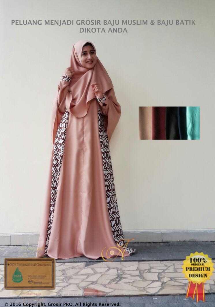 Gamis Syar I Premium Asli No Kw Supplier Grosir Baju