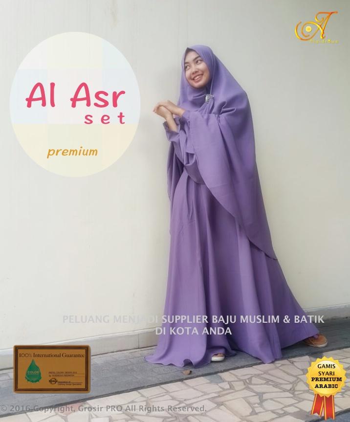 Gamis Syar I Premium 2017 Asli No Kw Supplier Grosir