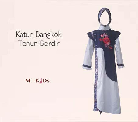 Baju Gamis Tenun Songket 46