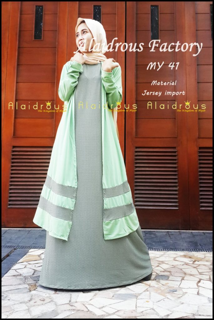 Model Baju Dress Muslim Remaja Supplier Grosir Baju