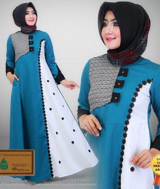 Permalink to Model Baju Gamis Syar'I Terbaru