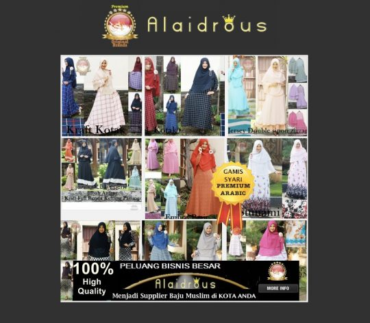 Permalink to Desain Busana Atasan Muslim Perempuan Terbaru