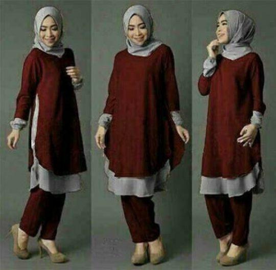 Permalink to Mencari Model baju muslim terbaru