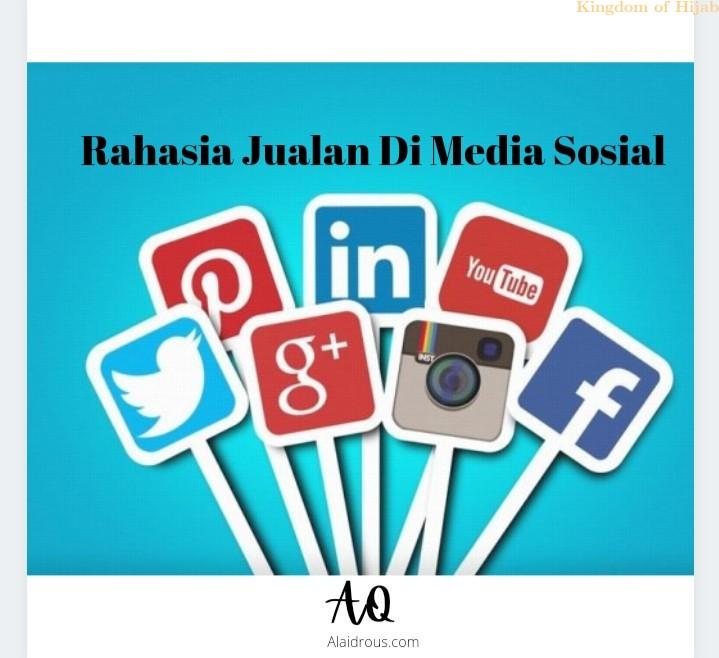 Rahasia Jualan Di Sosial Media