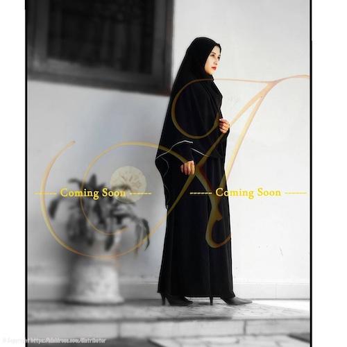 Bahan Kain Baju Muslim Jetblack Venetion