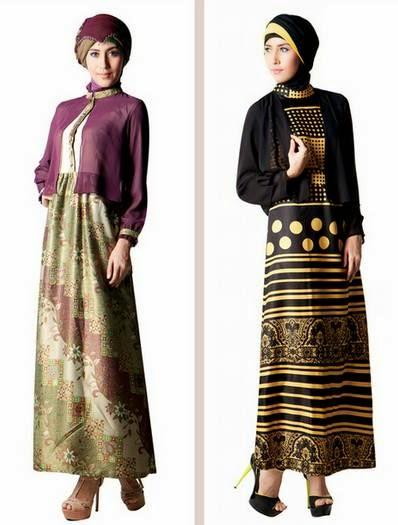 Kombinasi Baju Muslim Modern