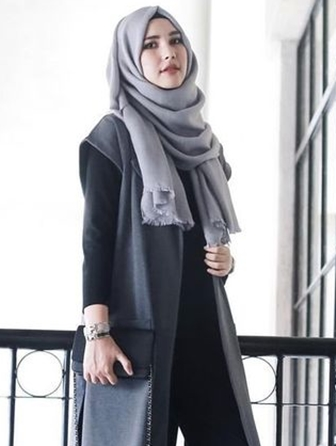 Model Hijab Casual Dan Modern